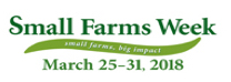 Cover photo for Small Farms Week: March 25-31