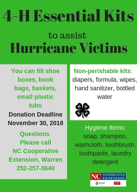 Donation flyer image
