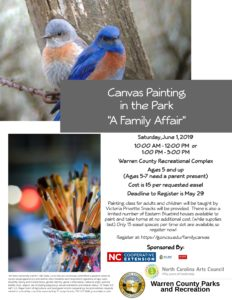 Cover photo for Canvas Painting in the Park: It's a Family Affair!