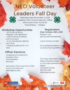 Cover photo for NED 4-H Fall Leaders Day