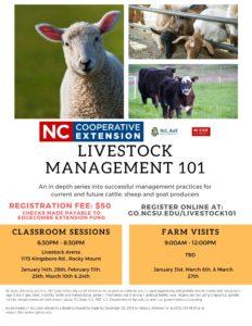 Cover photo for Livestock Management 101