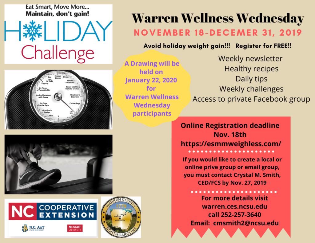 Wellness Wednesday flyer image