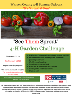 Cover photo for See Them Sprout 4-H Garden Challenge