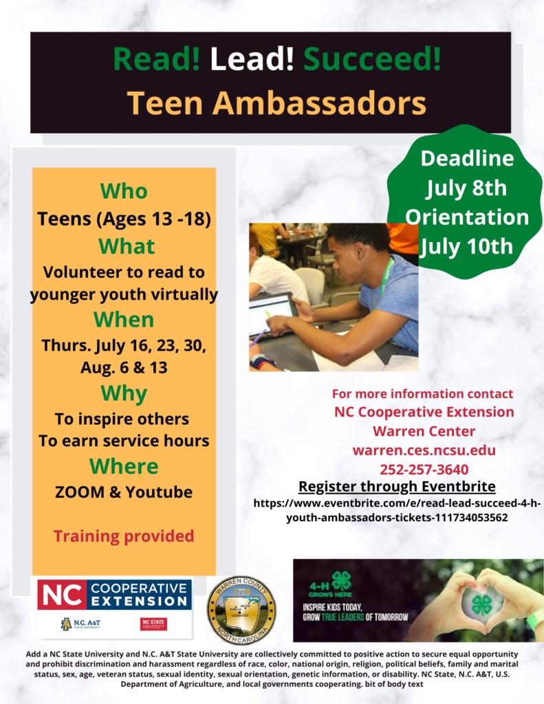 Teen Ambassadors