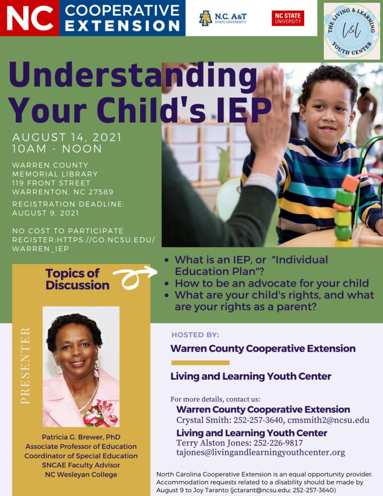 IEP flyer